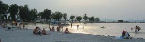 Sandstrand am Balaton