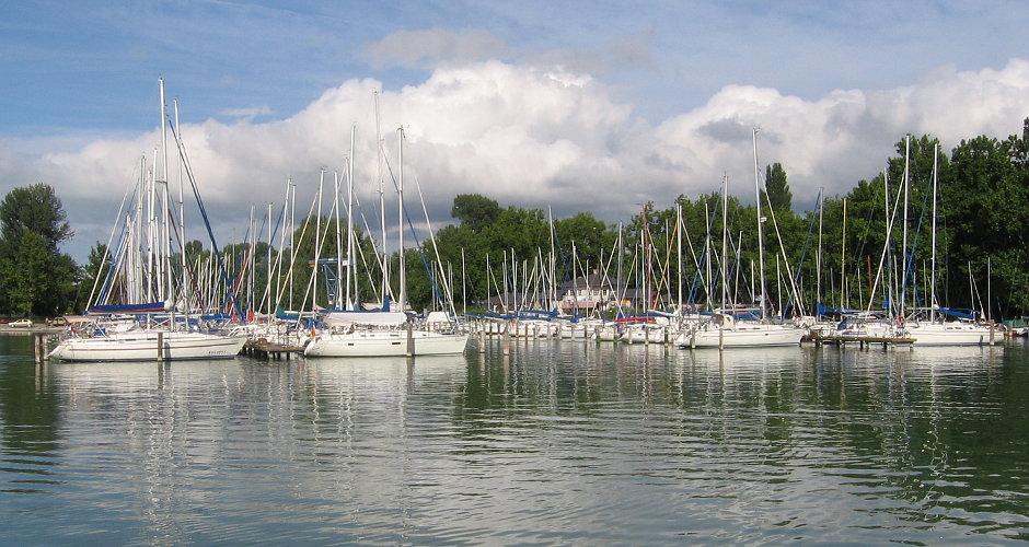Balatonföldvár Hafen